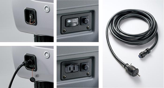 Honda|Honda Access|N-VAN|エクステリア|外部電源入力キット