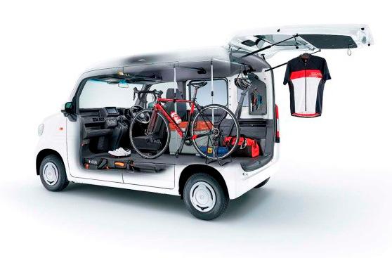 Honda新型軽バン「N-VAN」用純正アクセサリーを発売 | Honda Access | 広報発表 | Honda