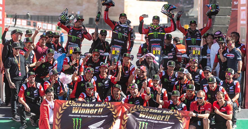 ダカールラリー - 2020 Stage 12   Honda