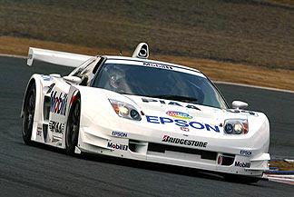 全日本gt選手権 honda racing jgtc