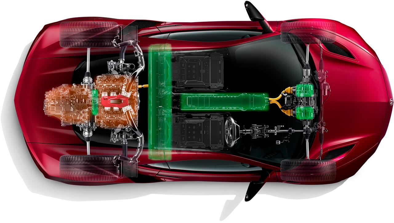 3.5L V6 DOHCツインターボエンジン