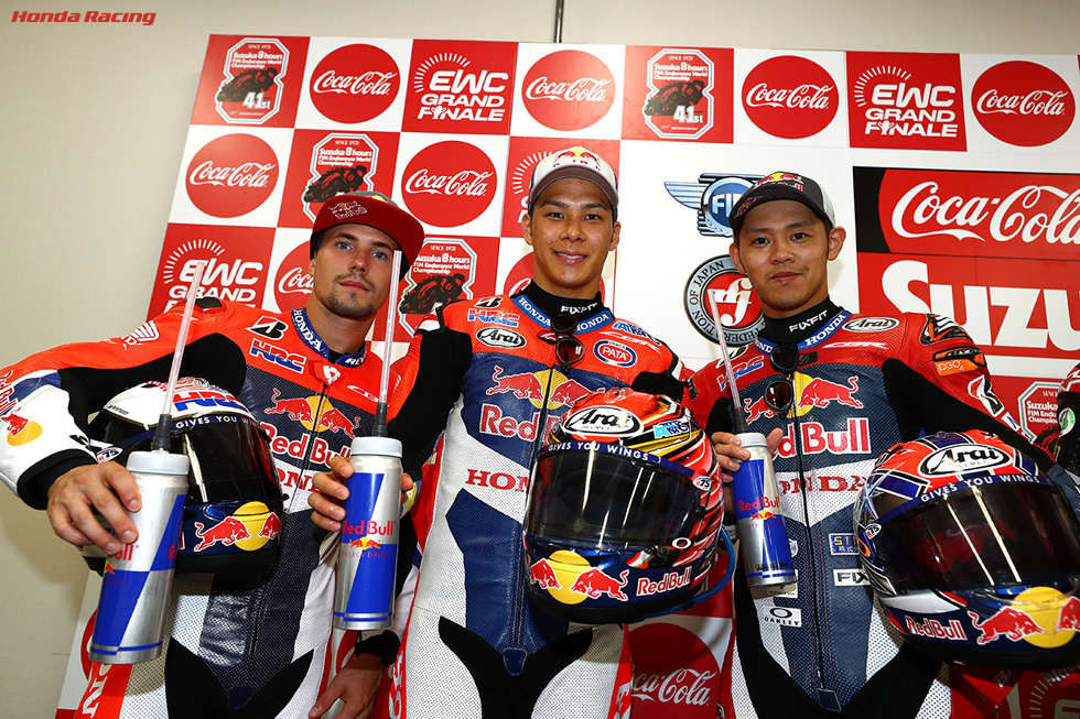 Red Bull Honda with 日本郵便