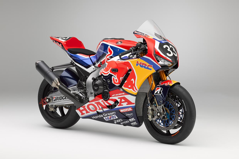 2019 鈴鹿8耐 - Red Bull Hondaが鈴鹿8耐仕様マシンのカラーリングを ...