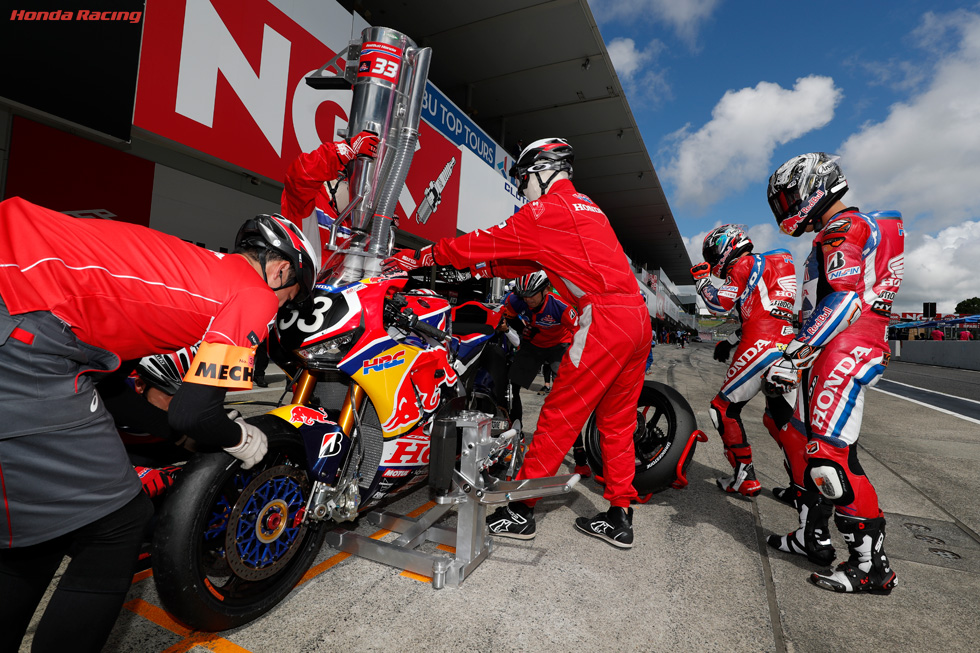 #33 Red Bull Hondaが公式予選3番手、Honda勢5チームがトップ10入り