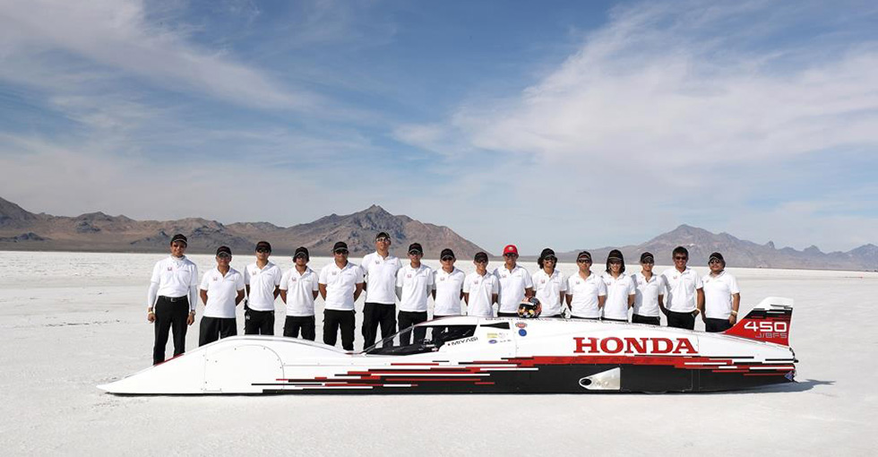 Land Speed Record >> Mike Cook's Bonneville Shootout(FIA公認 Land Speed Record)にて ...
