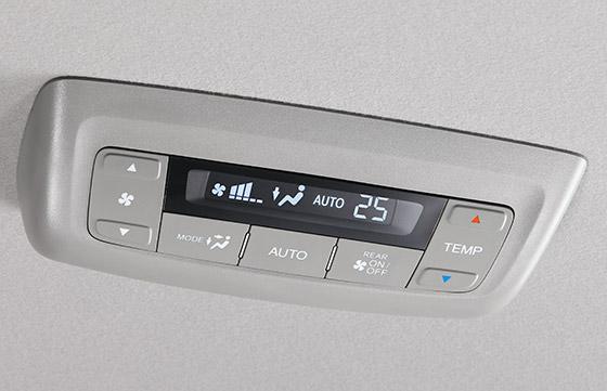 トリプルゾーンコントロール・フルオートエアコンディショナー(FF車※5)