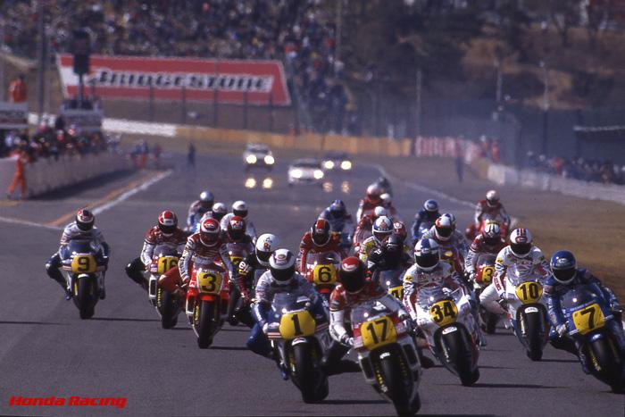 日本GPの興奮。- 2年続いた500cc...