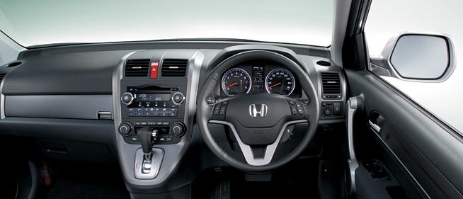 Cockpit on Motor Honda Crv