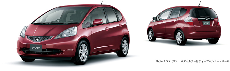 honda フィット 2010年9月終了モデル タイプ 価格 1 5 x