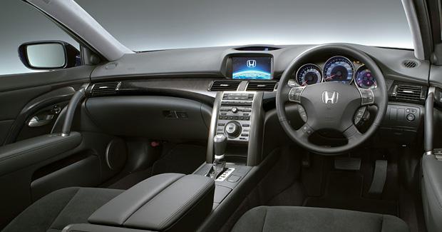Honda レジェンド(2008年8月終了モデル) 内装 ブラック インパネ