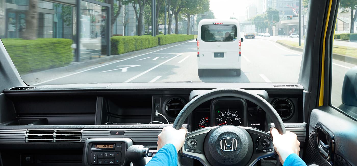 予防安全性能|安全・性能|N-VAN(2021年1月終了モデル)|Honda