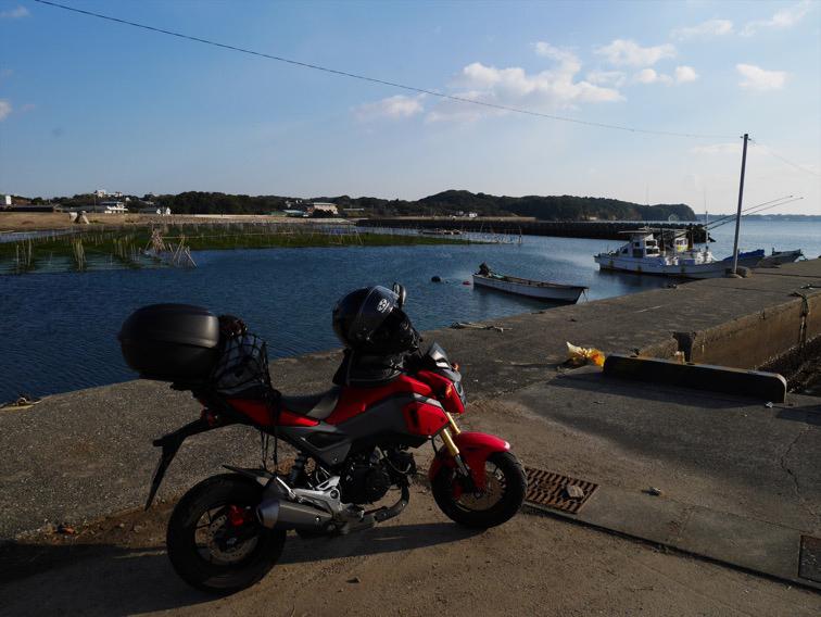 鳥羽の漁港