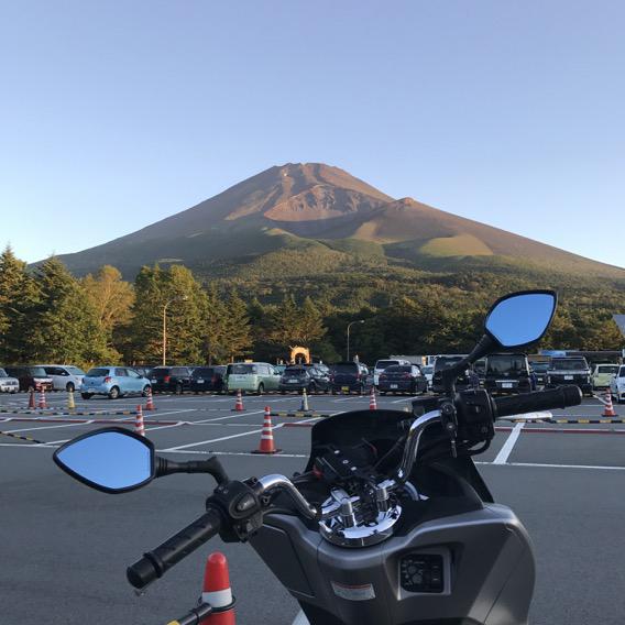 水ヶ塚公園からみた富士山