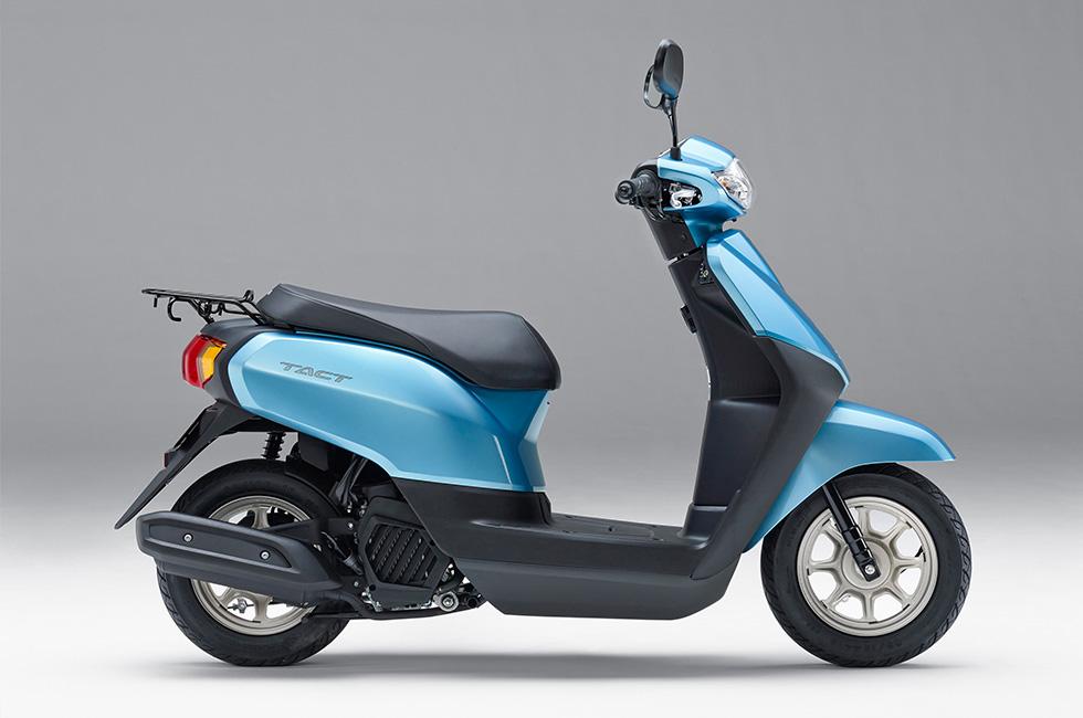 Honda | 新型50ccスクーター「タクト」を発売