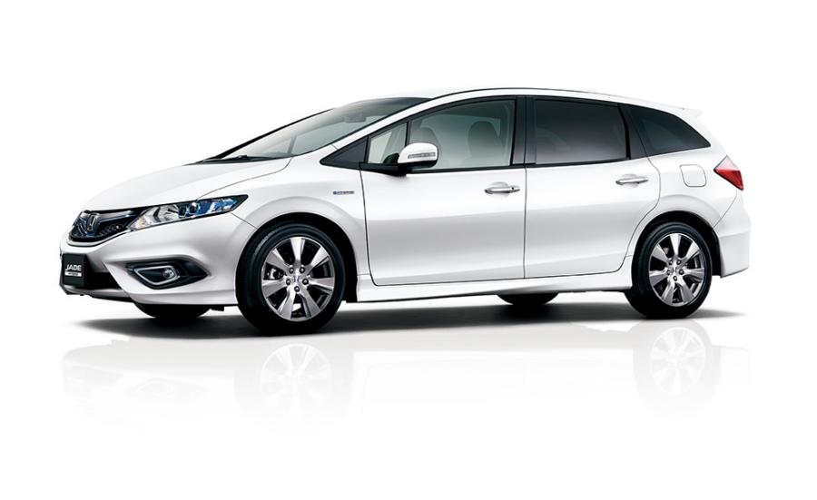 Honda | 6人乗りの新型乗用車「JADE(ジェイド)」を発売