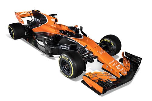 McLaren-Honda 新型マシン「MCL32」