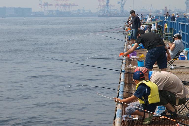 施設 本牧 海 釣り