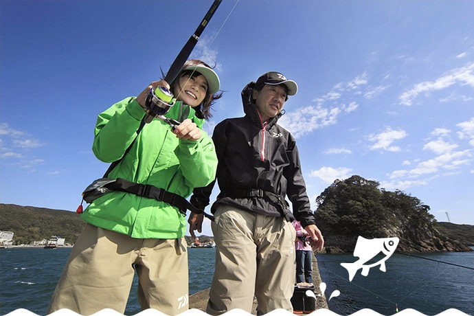 SCENE3 ウワサのカゴ釣りに初 ...