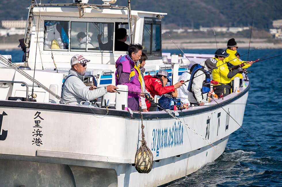 釣り カワハギ 船