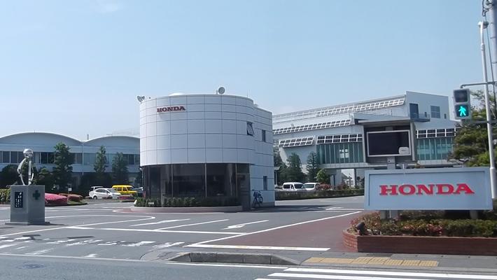 画像: 静岡県浜松市にあるトランスミッション製造部。ここで乗用車用のモーターを製造している。 www.honda.co.jp