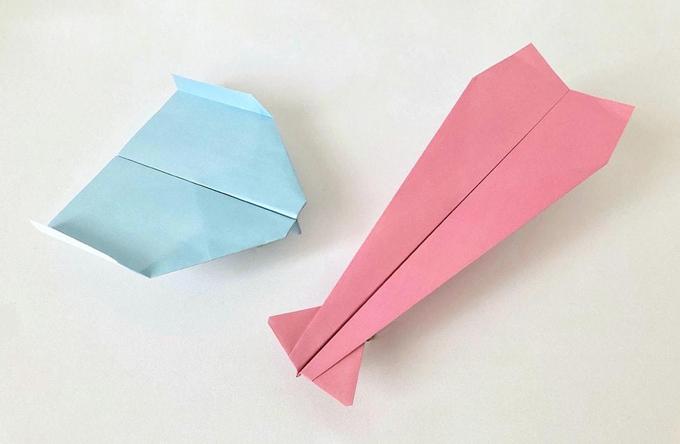 ギネス 紙 飛行機 折り 方
