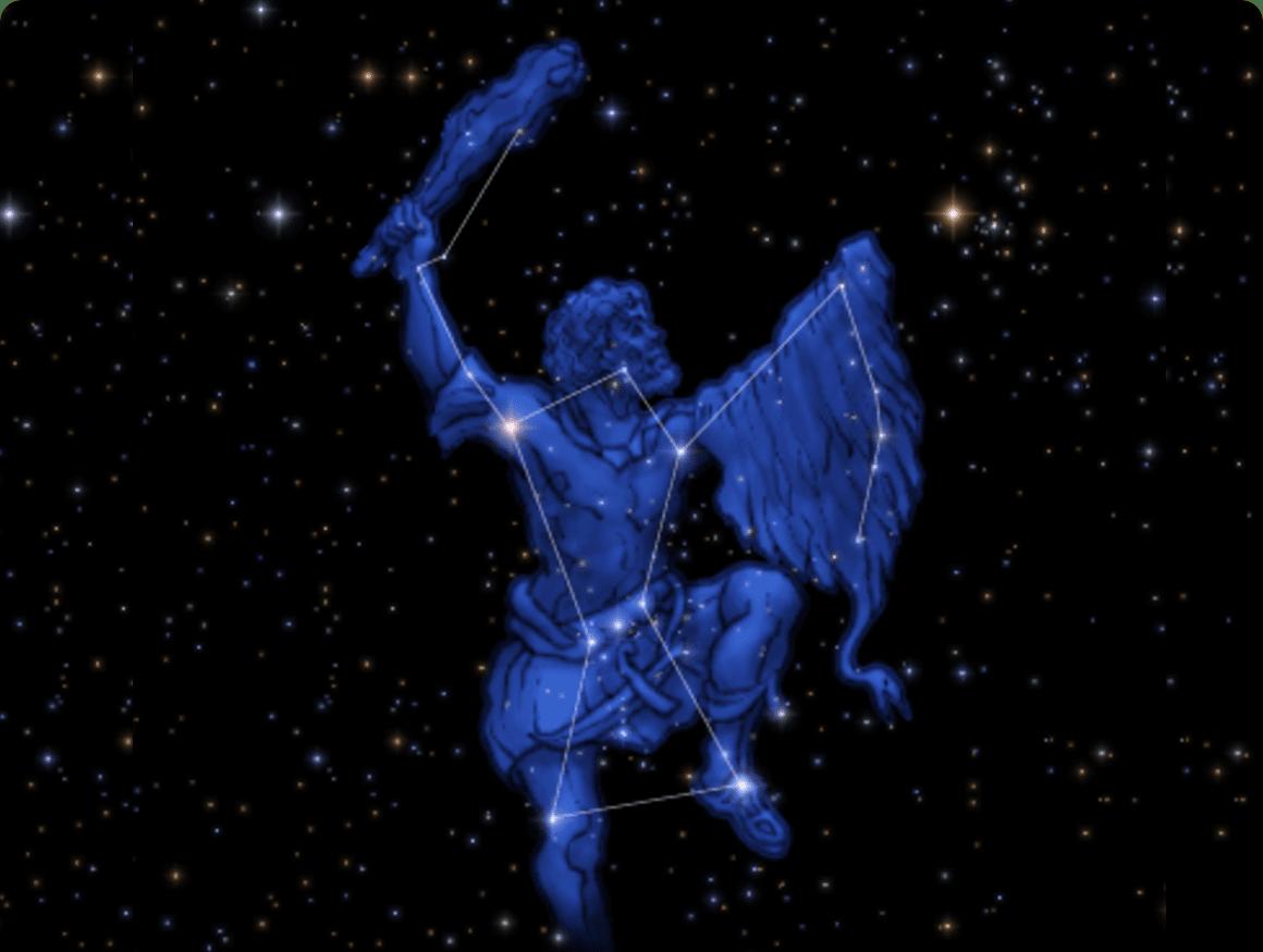 「オリオン座 冬」の画像検索結果