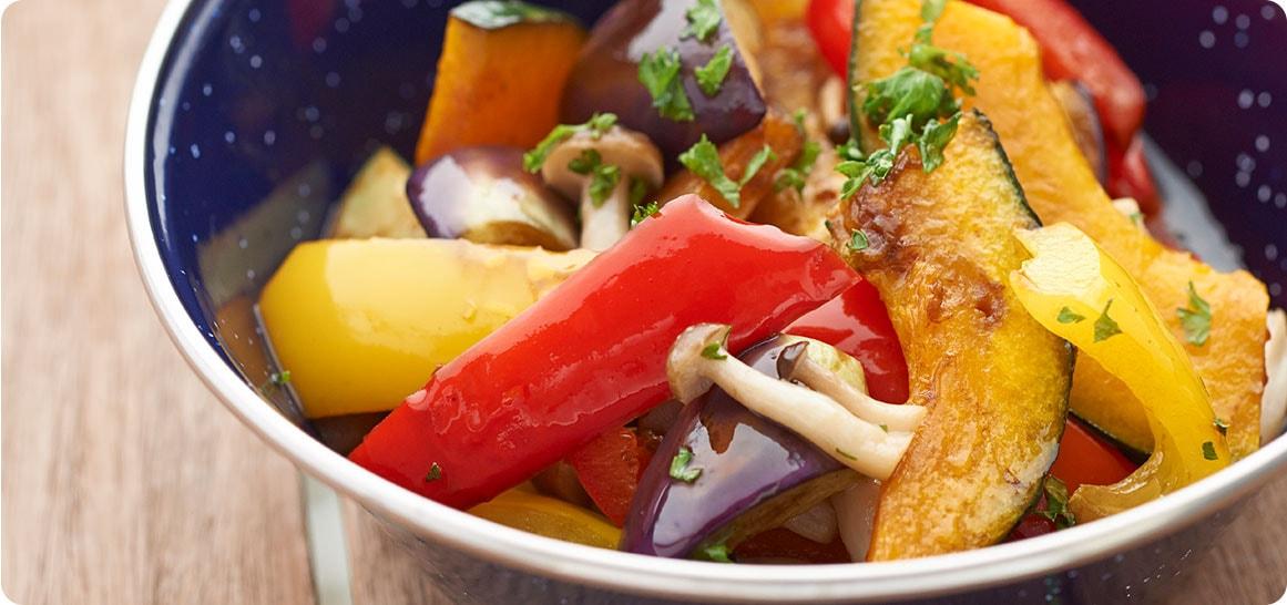 【簡単キャンプ料理】秋野菜のマリネ , キャンプ料理レシピ