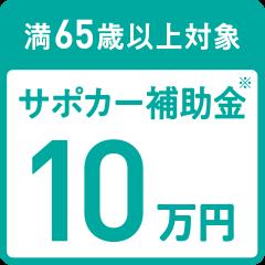 サポカー補助金10万円