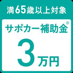 サポカー補助金3万円