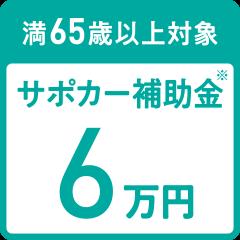 サポカー補助金6万円