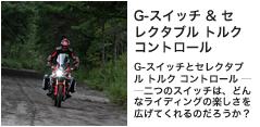 G-スイッチ & セレクタブル トルク コントロール