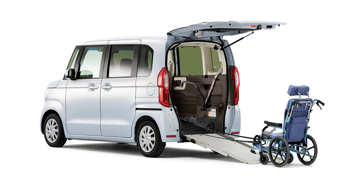 ポイント | 車いす仕様車 | N-BOX | 福祉車両 | Honda