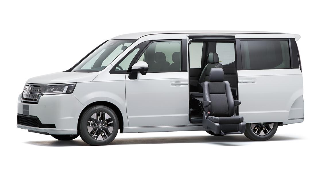 ポイント|サイドリフトアップシート車|ステップ ワゴン|福祉車両|Honda